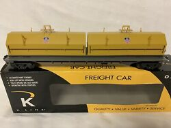 ✅k-line By Lionel Union Pacific Steel Coil Car New Mill O Scale Train Up
