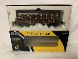 ✅k-line By Lionel Die Cast Southern 2 Bay Hopper Car And Real Coal Load Norfolk