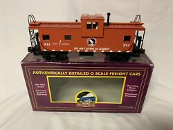 ✅mth Premier Great Northern Lighted Extended Vision Caboose 20-91052 O Scale