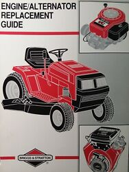 Briggs And Stratton Engine Alternator Service Repair Replacement Guide Manual