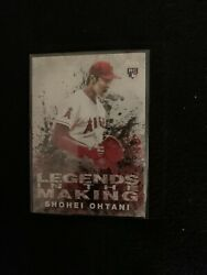 2018 Topps Legends In The Making Rookie Card Of Shohei Ohtani Litm-21