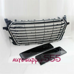 New Front Bumper Grille Chrome Grille Grill For Audi Tt Mk3 8s 2015 Tts Style