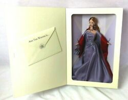 Barbie Vera Wang Limited Edition Salute To Hollywood Doll Vtg 1998 Coa And Sketch