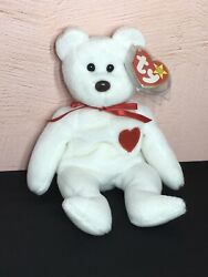 Valentino Ty Beanie Baby With Brown Nose Pvc Multiple Errors '93 Tush Tag - Rare