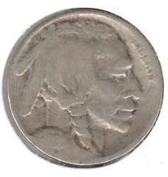 1926-s Very Good Buffalo Nickel 1 First Two Digits Are Weak As Is Typical
