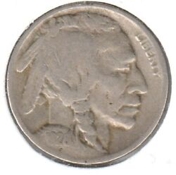 1926-s Very Good Buffalo Nickel 3 First Two Digits Are Weak As Is Typical