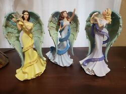 Thomas Kinkade Reflections Of My Soul Collection Figurines Set