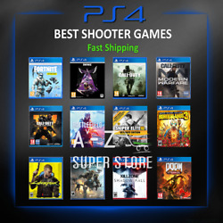 Ps4 Shooter Game Playstation 4 Action Shooting Lot Video Games New Best Sellers