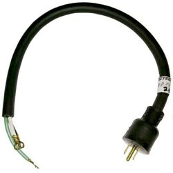 Oztec Concrete Vibrator Electrical Cord Assembly 1.2 Oz And 1.8 Oz