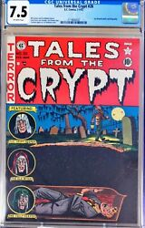Tales From The Crypt 28 Cgc 7.5 Ec Comics Pre Code Buried Alive Cover