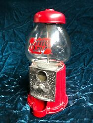 Mint Vintage Rare 1985 Carousel Frito-lay Bubble Gum Machine Metal And Glass