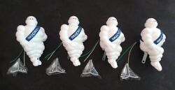 Michelin Plastic Doll 8 Inch X4 For Car Decoration, Truck With Hoodandnight Light.
