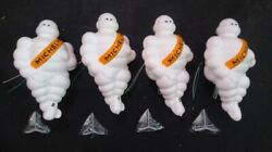 Michelin Plastic Doll 10 Inch X4 For Car Decoration,truck With Hoodandnight Light.