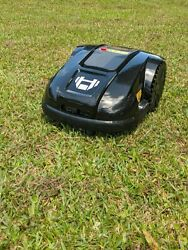 Robot Lawn Mower Black E1800 .25 Acre Coverage Capacity Affordable