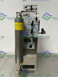 Vacuum Atmospheres Company Stainless Steel Solvent Purifier Recirculating System