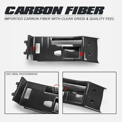 Csl Style Carbon Glossy Center Console Interior Fit For Bmw E46 M3rhd Only