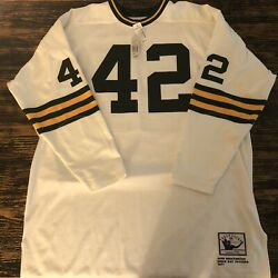 Rare Authentic Mitchell And Ness John Brockington 42 Green Bay Packers Jersey