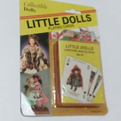 Doll Playing Cards Deck New Sealed Vintage Victorian Collection World Little