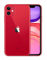 Apple Iphone 11 Red - 128gb Unlocked With Fortnite Mobile In Vg Condition