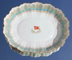 White Star Line Rms Olympic Titanic Era Pattern 1st Cl Gothic Arch Or Crown Bowl