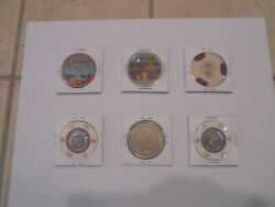 Casino Chip Collection From Casinos In Puerto Rico.......1994