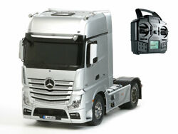 Tamiya Semi Truck Rtr Mercedes-benz Actros 1851 Gigaspace Assembled And Painted Rc