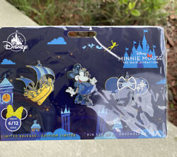 Disney Minnie Mouse The Main Attraction Pins Peter Pan's Flight Pin Set