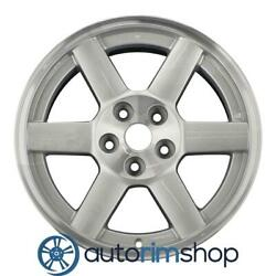 Jeep Liberty 17 Factory Oem Wheel Rim Machined With Silver