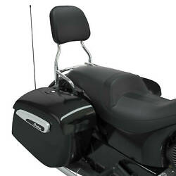 Indian Motorcycleand039s Challenger Passenger Backrest And Pad Chrome 12 2884186-156