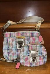 Small Coach Bag and Wallet Set. Slightly used. $50.00