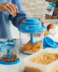 Tupperware Power Chef Premium System Power Chef / Chop N Prep W/ Whipping To