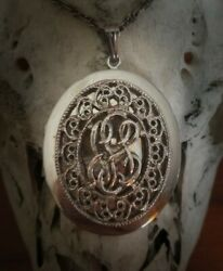 Witch Owned Wishing Locket Necklace Coven Blessed Manifest Your Dreams Powerful