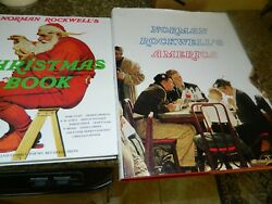 Norman Rockwells America - Finch/abrams And Christmas Book