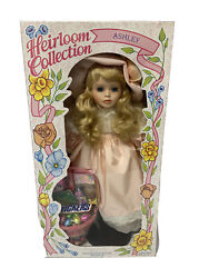 Vintage Heirloom Collection Ashley Porcelain Easter Doll By Wonder Treats New