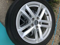 2017 Audi A4 Stock Wheels And Tires 17' 17x7.5 5 Lug 4 Good Wheels And 3 Tires