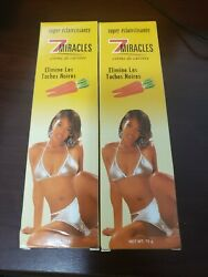 2-pack - 7 Miracles Carrot Cream 70g Eliminates Black Spots 7 Milagros Crema