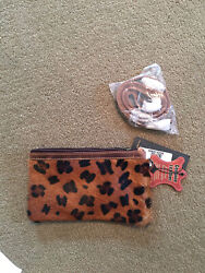 American Darling Womens Wristlet Leather With Cheeha Design $45.00