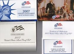 2007 United States Mint Clad Proof Set And Uncirculated P And D Sets