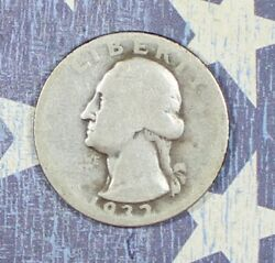 1932-d Washington Silver Quarter Key Date. Collector Coin For Your Collection