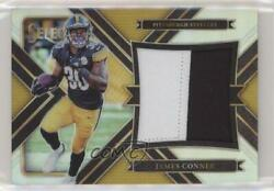 2017 Panini Select Jumbo Swatches Silver Prizm /99 James Conner 15 Rookie