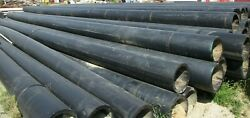 Ips 18 Dr11 50' Sections Hdpe Black Plastic Pipe Sold Separate B197ga