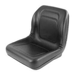 High Back Black Seat Fits 650750850950and 1050 Fits John Deere Compact Tractor