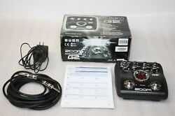Zoom G2 Guitar Multi Effects Pedal,power Supply,15' Cord, Books And Original Box
