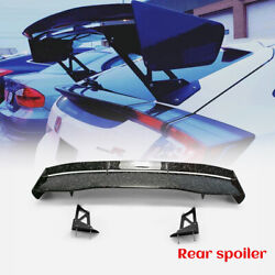 Fit For Honda Civic Fk7 Fk8 Vtx5 Style Forged Carbon Glossy Rear Gt Spoiler Wing