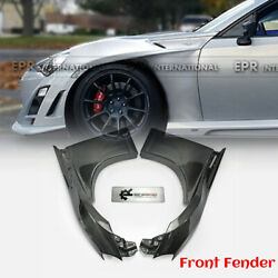 Vf Style Carbon For 2017+ Toyota Brz Ft86 Gt86 Frs Front Wider Fender Mudguards