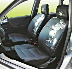Mickey Mouse Auto Seat Covers Superior Limited Edition Black Superb