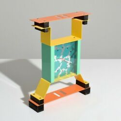 George Sowden Clocks Objects From The Electronic Age Nathalie Du Pasquier 1983