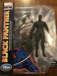 MARVEL SELECT 6quot; BLACK PANTHER ACTION FIGURE Disney Exclusive NIB Collectible