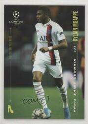 2020 Topps Lionel Messi Champions League Youth On The Rise Kylian Mbappe