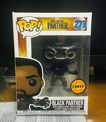 Funko Pop Marvel Black Panther 273 Limited Edition Chase. Oop. Rare. A+seller